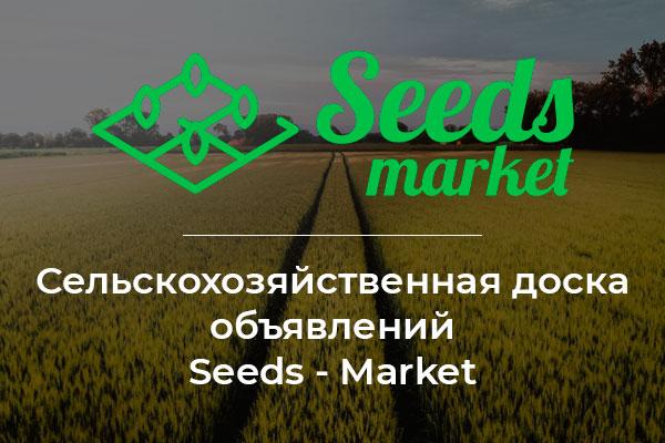 Сельскохозяйственная доска объявлений Seeds - Market